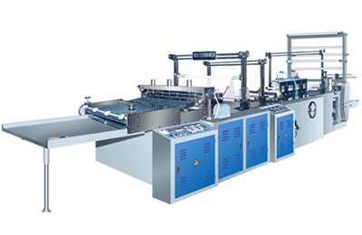 Machine de fabrication de sacs en bande machine de fabrication de sacs plastique machines d - Machine de fabrication de couette ...